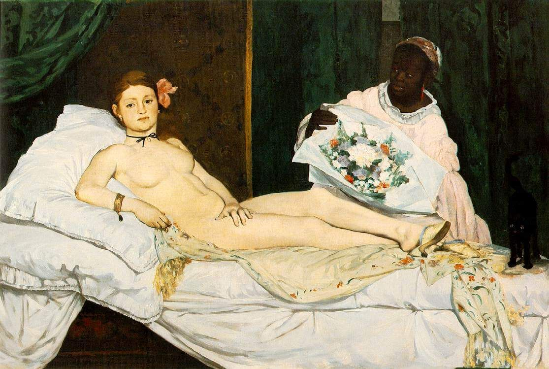 Эдуард Мане. Олимпия. 1863. Источник: wikipedia.org