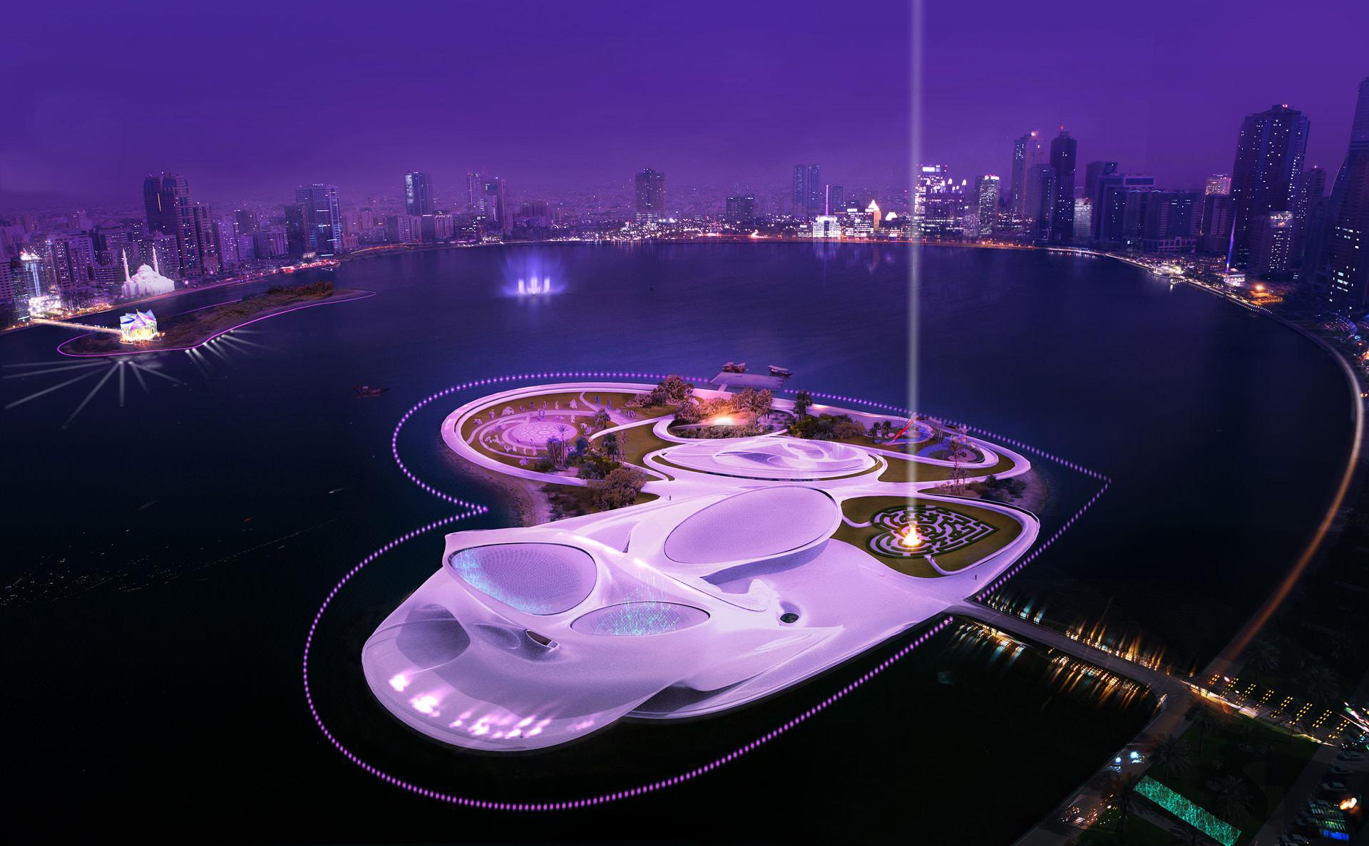Galb island concept.
