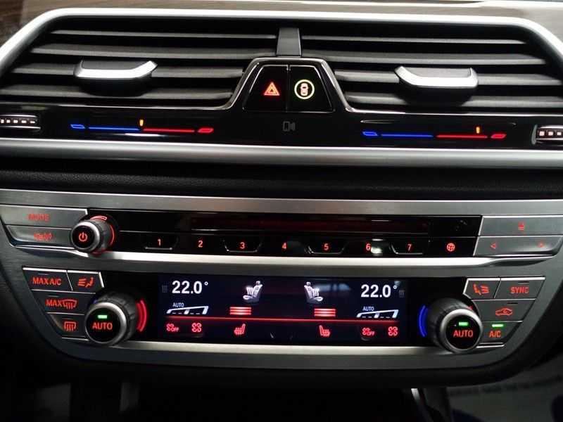 BMW 7 Serie 740D xDrive 320pk Individual M-Sport Aut8 Leer, 360 Camera, Full, 54 dkm afbeelding 18