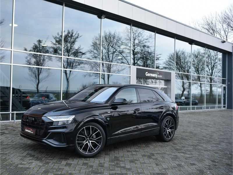 Audi Q8 50TDI 286pk Quattro S-Line Black Optic Lucht RS-zetels B&O High-end Alcant.Hemel TV Head-Up Standk ALLE OPTIES! afbeelding 24