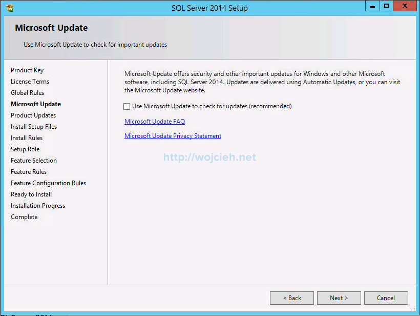 VMware vCenter Server 6 on Windows Server 2012 R2 with Microsoft SQL Server 2014 - 5