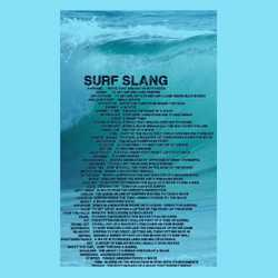 Hitting the waves this Summer? Time to brush up on your surf jargon. #surfjargon #weareallkooksinourownway