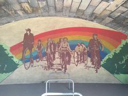 Idealsituation für Radfahrer in Dresden