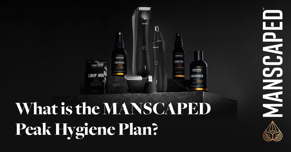 what is the manscaped peak hygiene plan?
