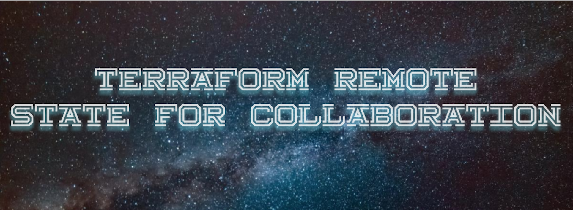Terraform remote state for collaboration