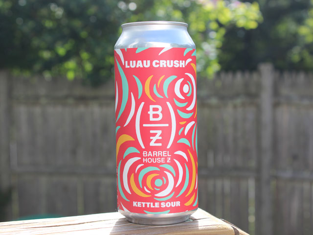 Luau Crush, a Kettle Sour brewed by Barrel House Z