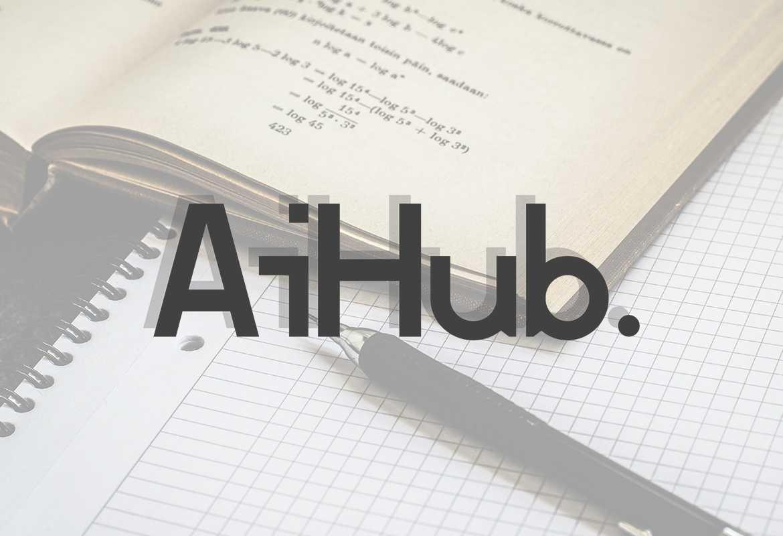 AiHub Logo Fullscreen
