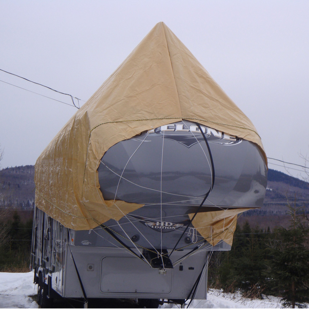 Navigloo Winter Cover for 31-35 foot trailers