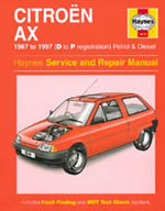 Citroen AX Haynes Manual