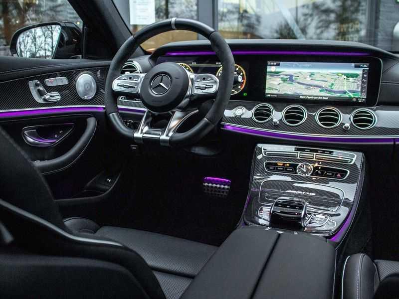 Mercedes-Benz E63 S E-klasse Burmester AMG-Performance-stoelen 63 S AMG 4Matic Premium Plus afbeelding 17