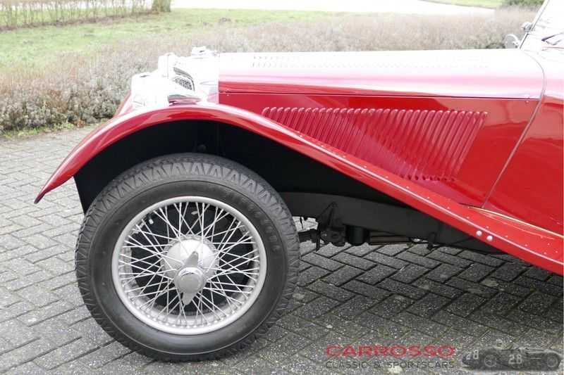 Jaguar SS100 3.5 Roadster / Heritage Trust Certificate / RHD afbeelding 18