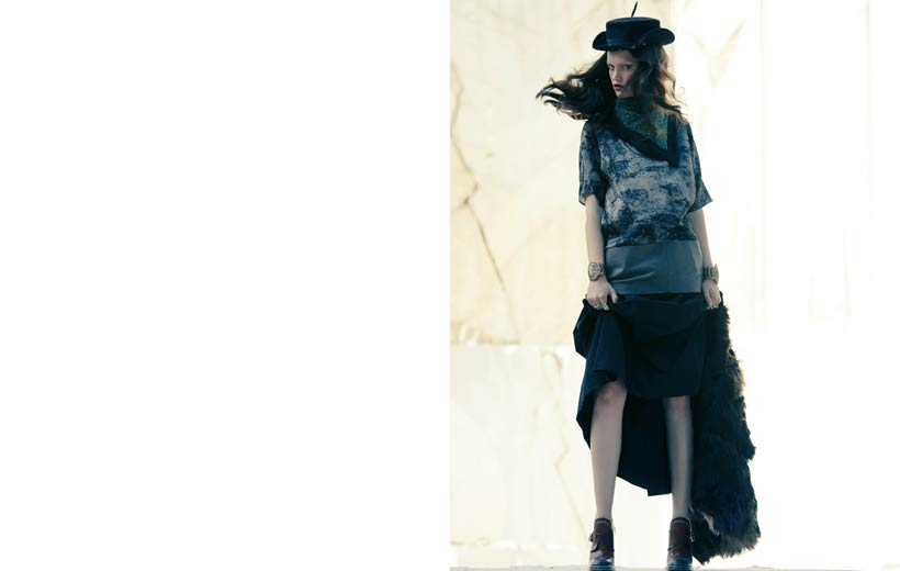 Elisabetta Cavatorta Stylist - Caravane - Sven Baenziger