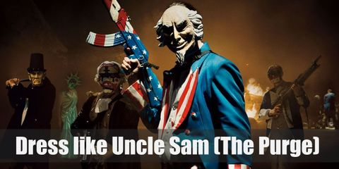 Dress Like The Purge – Uncle Sam (Election Year) Costume