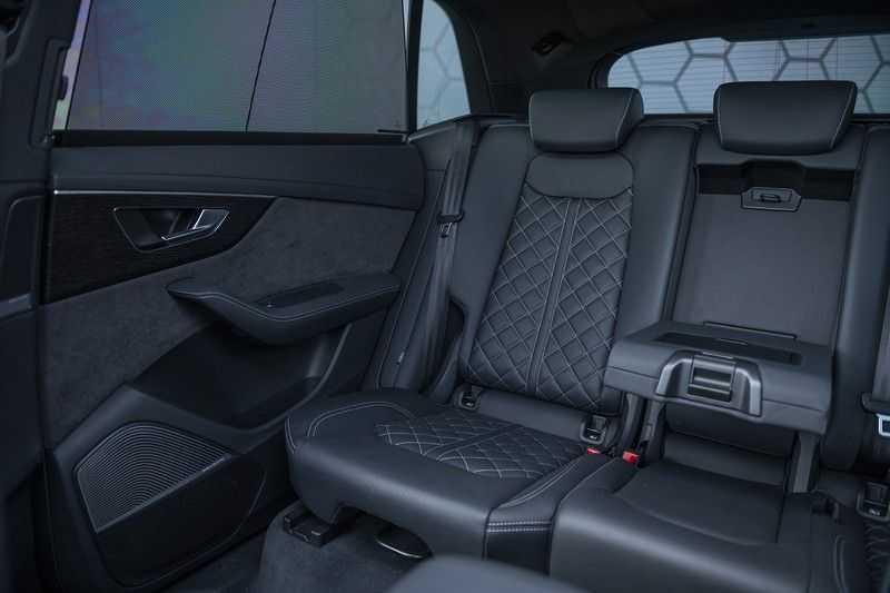 Audi Q8 55 TFSI quattro Pro Line S 3x S-Line! Black pack, 4-wiel-best. / Massage, Verw. & Koelb. stoelen, Bang & Olufsen 3D + Elek.Haak + Ambiente verlichting afbeelding 18