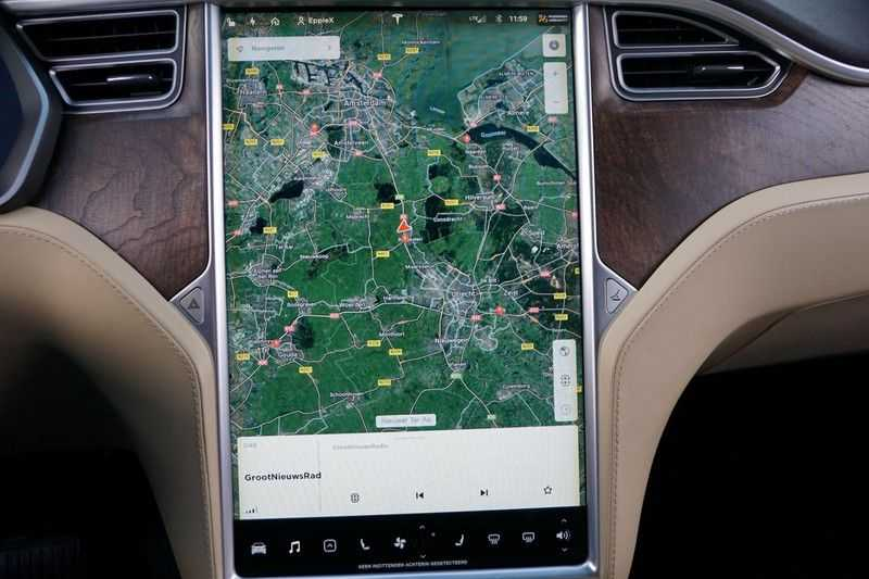 Tesla Model X 90D Base 6p. 6-Persoons / Panoramadak / Camera / Luchtvering / 112dkm NAP / NL-Auto afbeelding 10