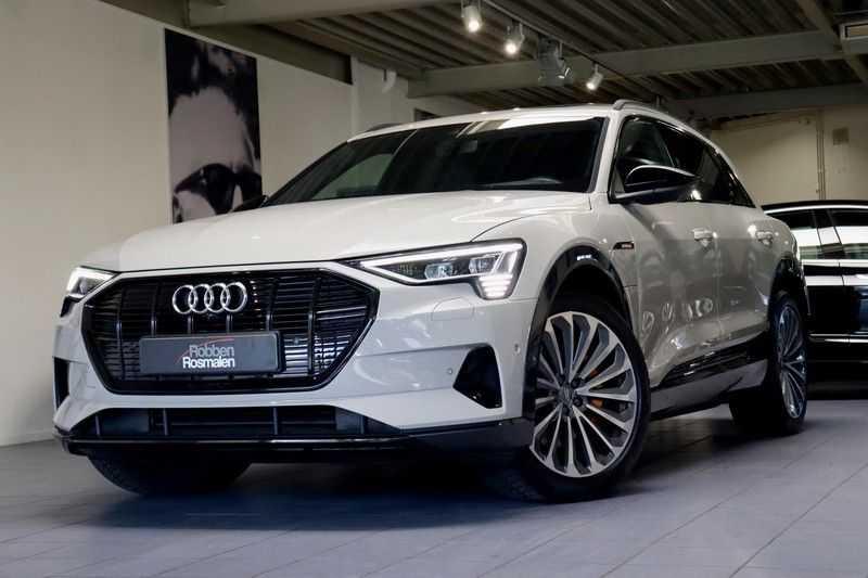 Audi e-tron 55 Quattro Advanced Pro 2X S-Line HUD Siambeig EX BTW afbeelding 22