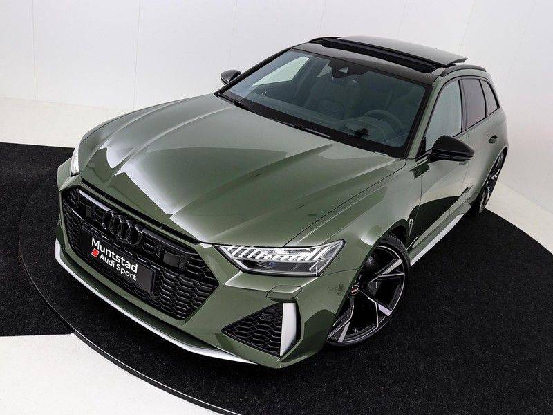 Audi A6 Avant RS 6 TFSI 600 pk quattro | 25 jaar RS Package | Dynamic + pakket | Keramische Remschijven | Audi Exclusive Lak | Carbon | Pano.dak | Assistentie pakket Tour & City | 360 Camera | afbeelding 12