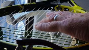 Mike Bryan's racquet