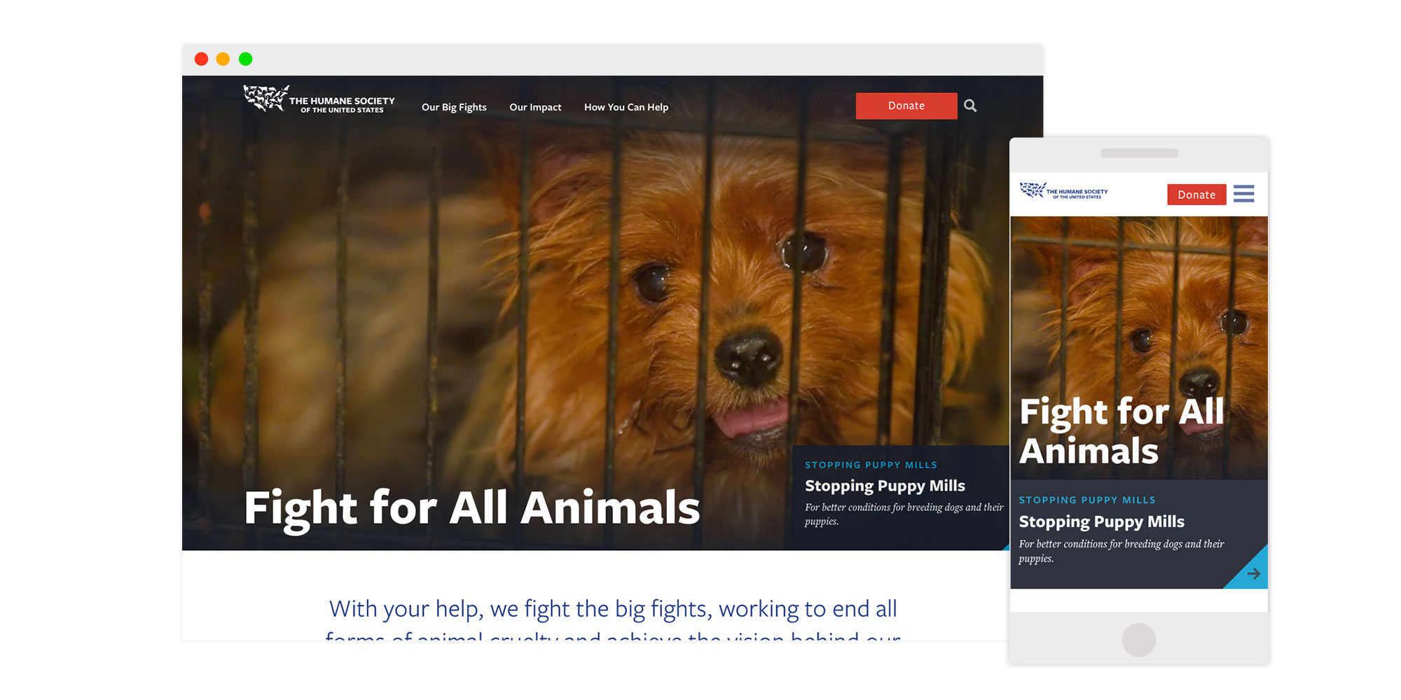 HSUS home page
