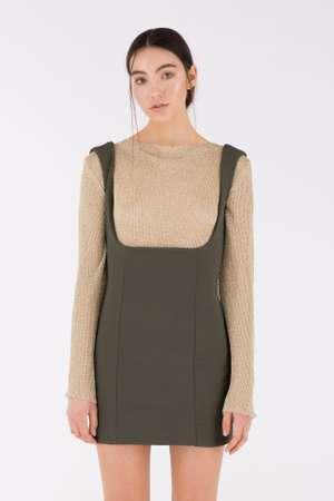Corset Skirt, Olive