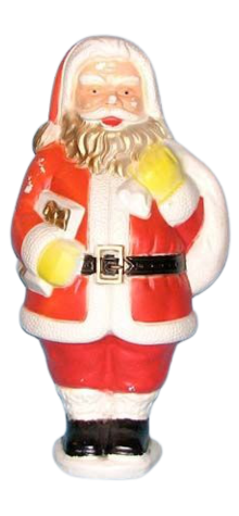 Illuminated Santa Claus photo