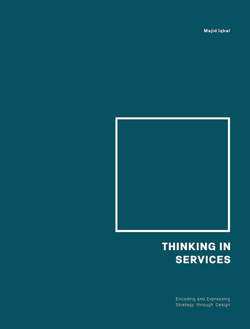 The cover of Thinking in Services