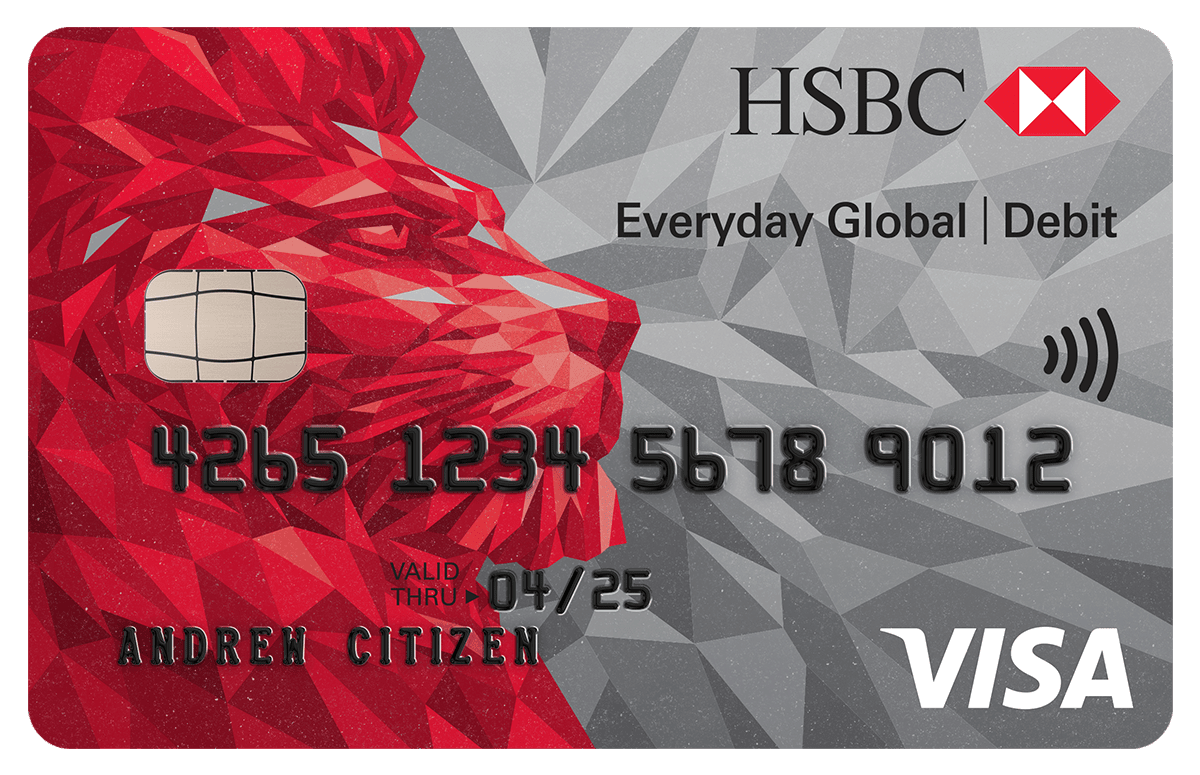 HSBC Everyday Global Visa Debit Card