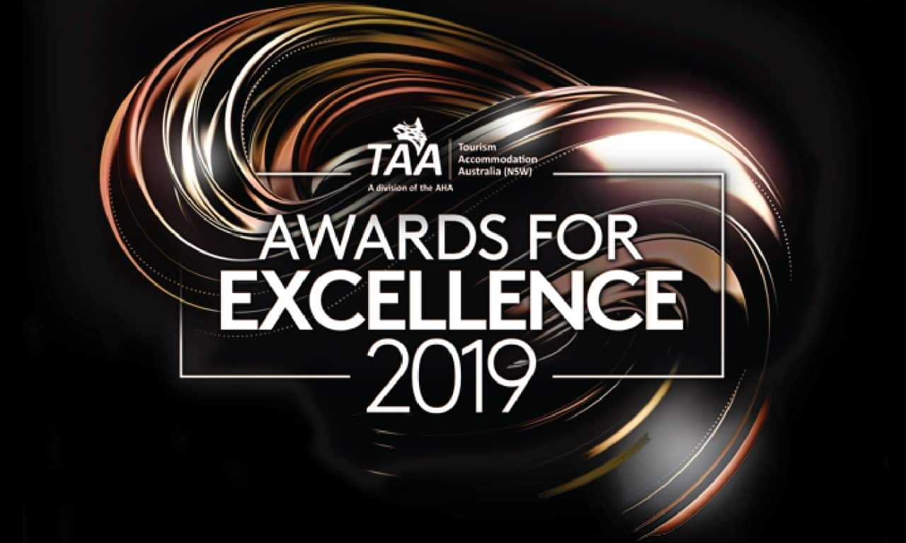 Tourism Accommodation Australia NSW Awards for Excellence 2019