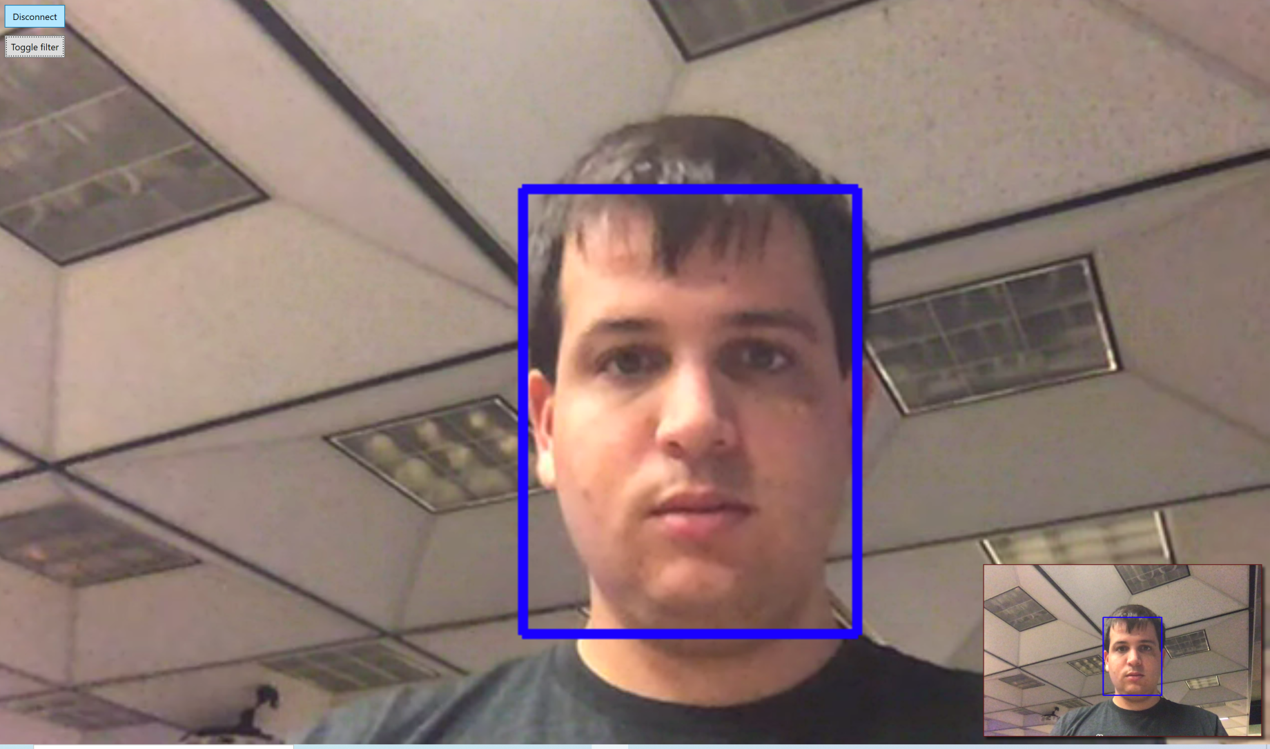 Display Example With Face Detection