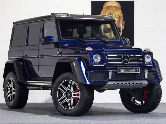 Mercedes-Benz G-Klasse 500 4x4² Designo, Carbon, Harman/Kardon