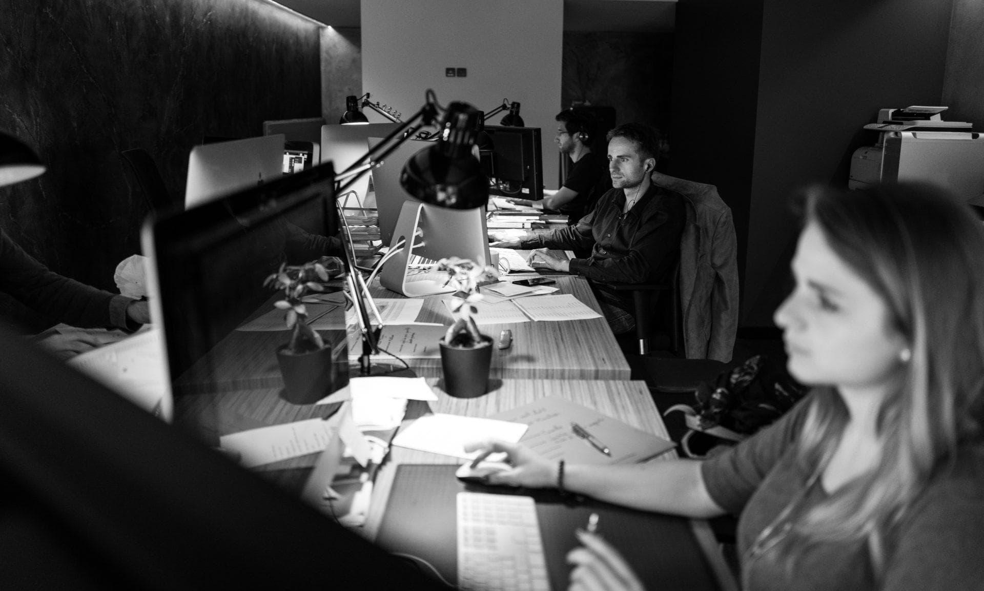 Intérieur des locaux de Lézards'Création : Agence de communication basée dans les Vosges à Remiremont