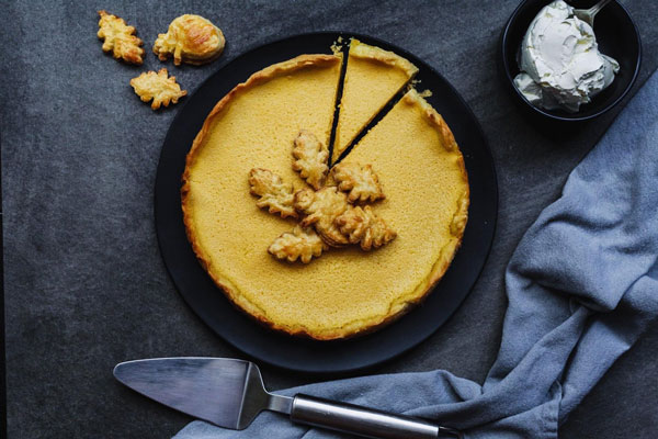 Deliciously Light And Airy Pumpkin Tart
