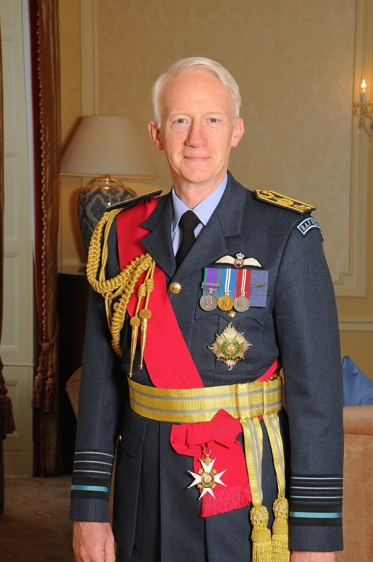 Image of His Excellency Air Chief Marshal Sir Stephen Dalton