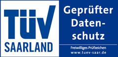TÜV-geprüfter Datenschutz