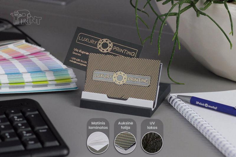 Prabangios vizitinės kortelės