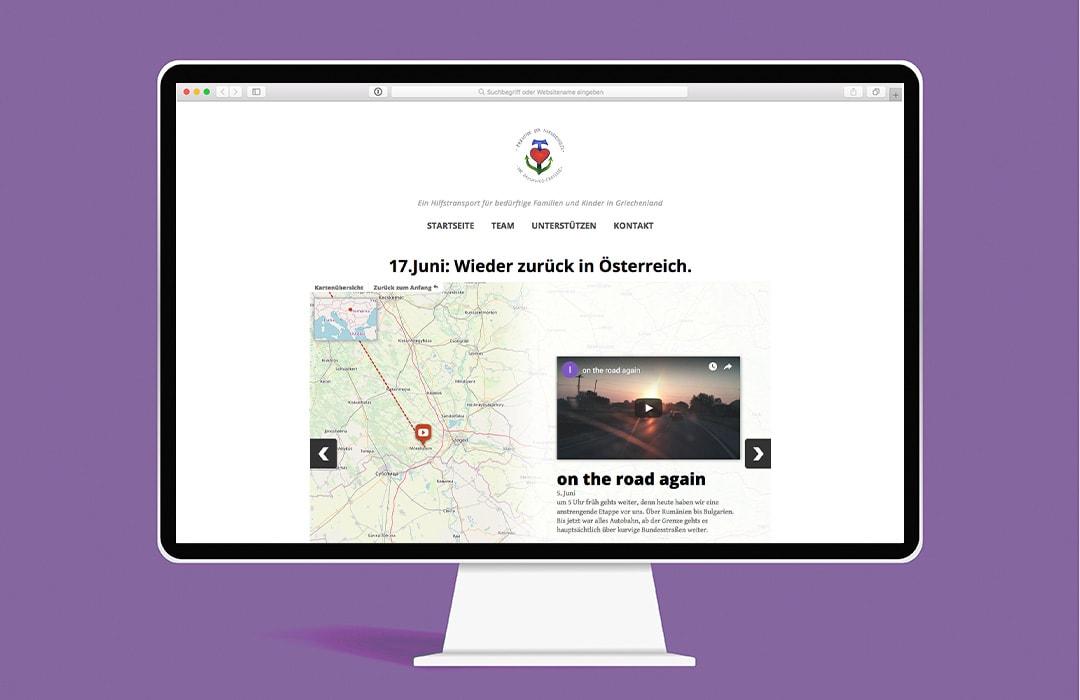 Damawos.at Webdesign Laptop Mockup