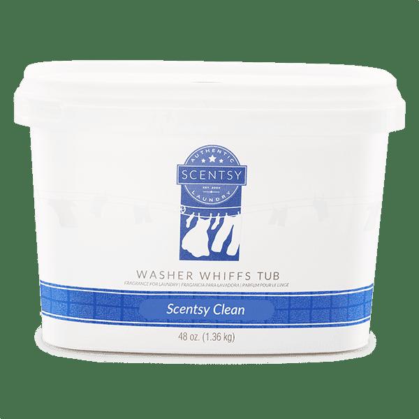 Scentsy Clean Washer Whiffs Tub