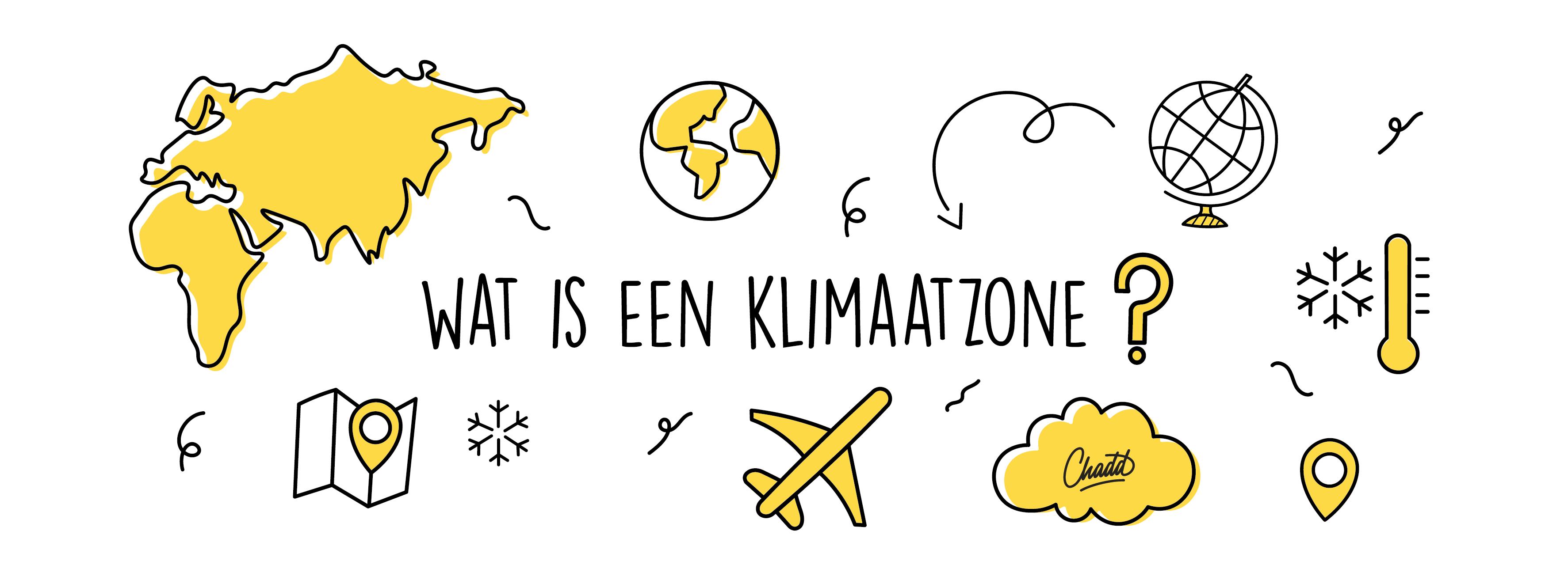 Wat is een klimaatzone?