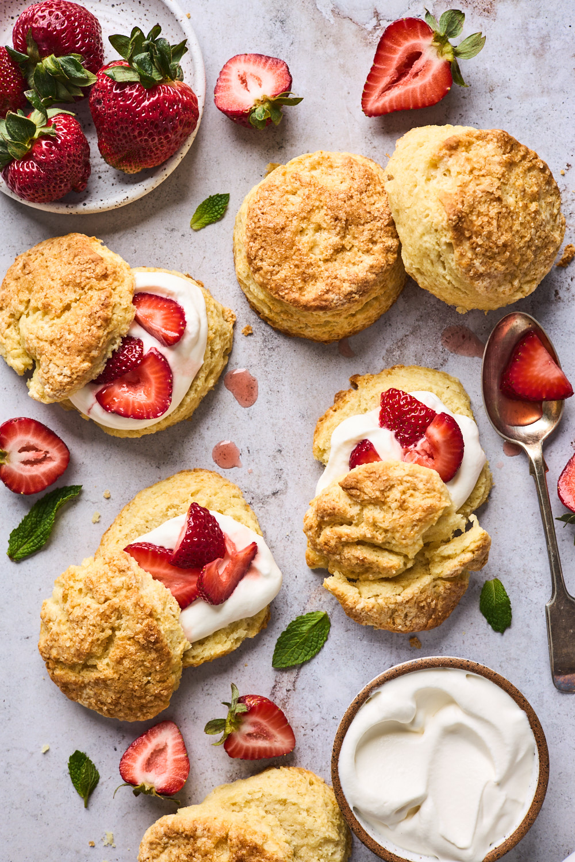Easy Homemade Strawberry Shortcake