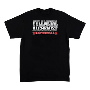 Fullmetal Alchemist Women's Black Short Sleeve Shirt