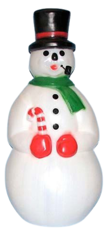Snowman With Pipe photo