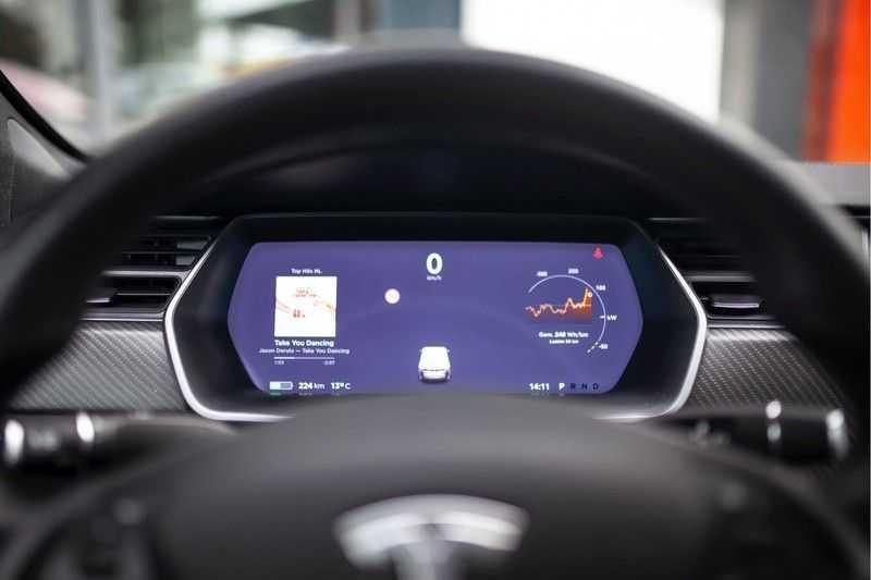 "Tesla Model S 100D Performance *Verb. Autopilot / 21"" LM / Pano* afbeelding 8"