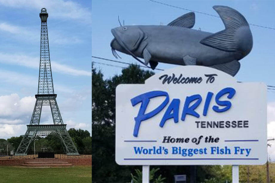 Paris, Tennessee - home of the world's biggest fish fry