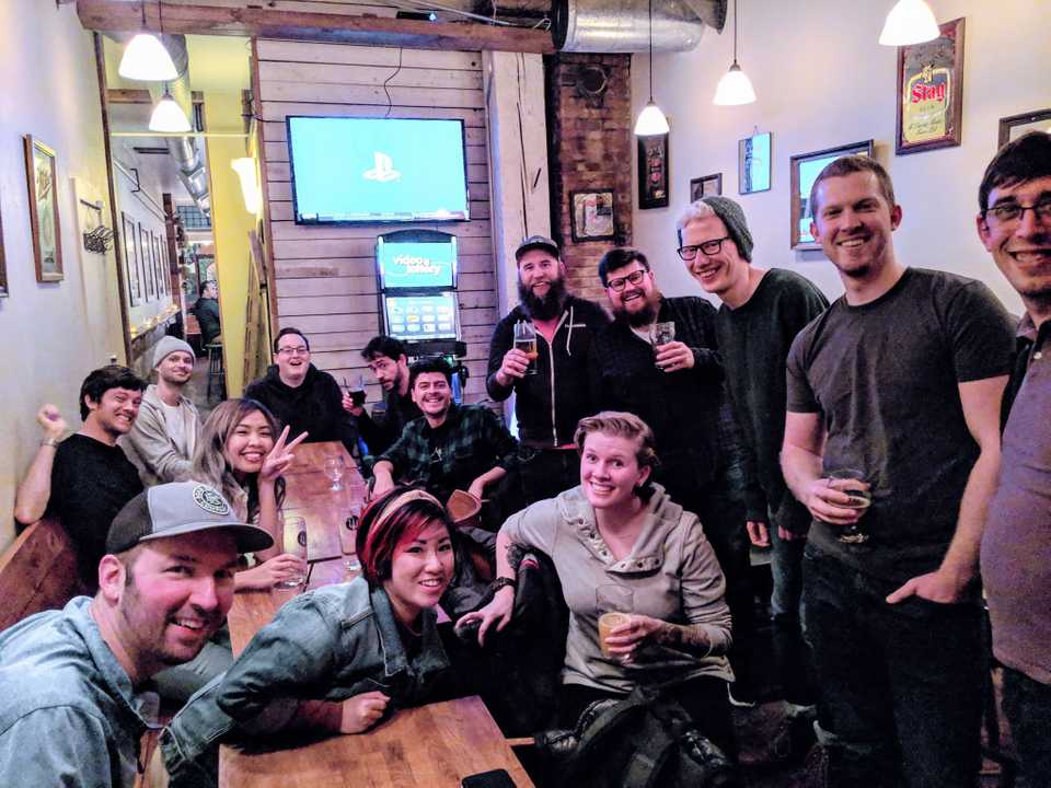 One of our great nights at Beers at Beer