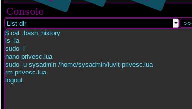 webadmin history