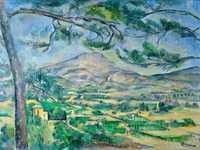 'Mont Sainte-Victoire' by Paul Cezanne (c. 1887)