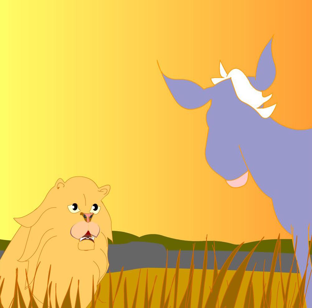 Donkey & lion: Chakram - A story for kids