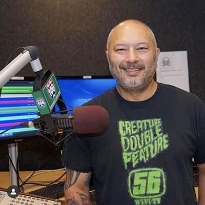 Mike Hsu, Morning Show Host / DJ for Worcester's 100.1 FM The Pike