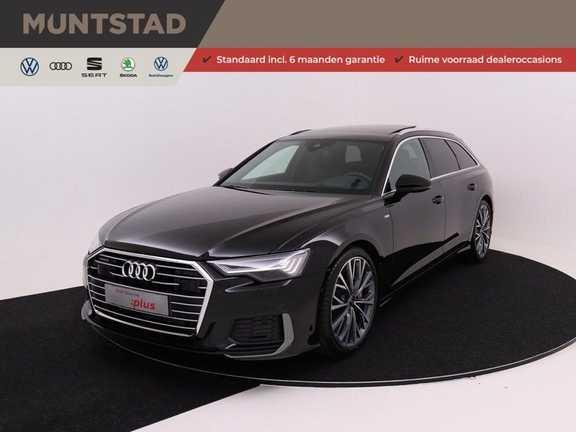 Audi A6 Avant 55 TFSI 340 pk quattro S-Line | Pano.Dak | Elektr. stoelverstelling incl. Memory | Stoelventilatie, verwarming & massage | Matrix LED | B&O premium sound | Head-Up | Assistentie Tour & City |