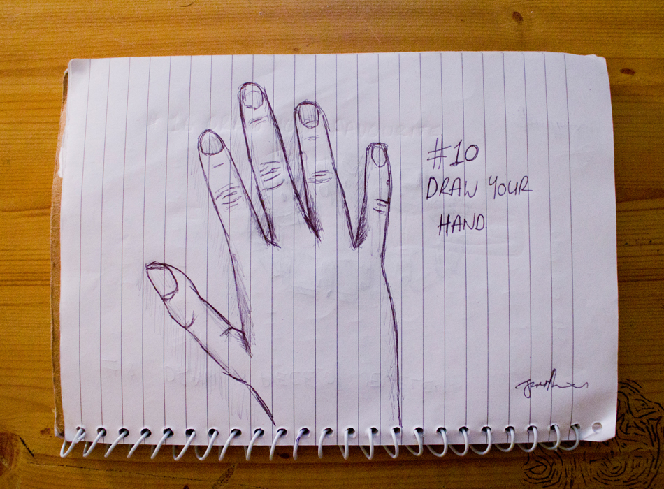 EDM #10 Draw Your Hand or Hands